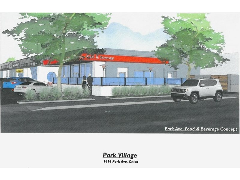 Conceptual Design for Ste 100 fronting Park Ave.