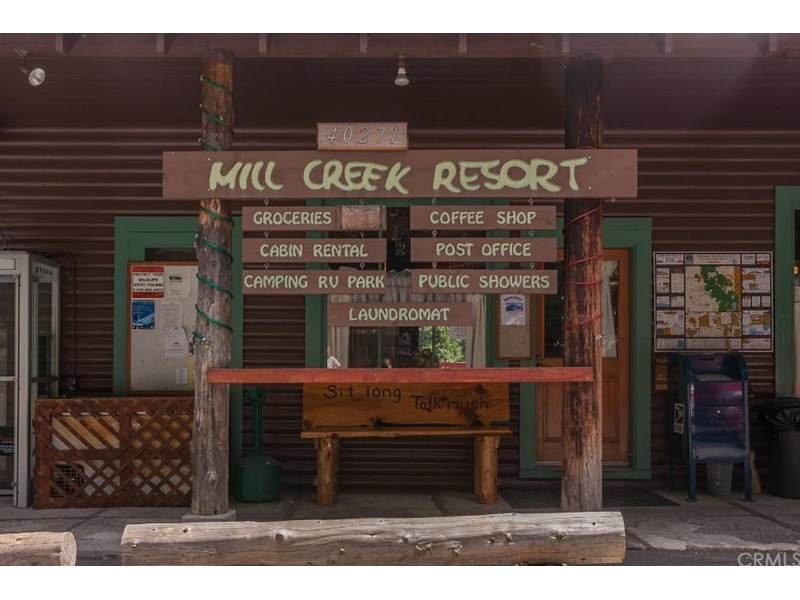 The Mill Creek Resort was established in 1926. Current owners have owned the resort for 35 years!