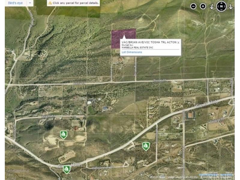 Agua Dulce California Map.0 Vac Brian Ave Vic Tosha Agua Dulce Ca 91390 California Ag Ground