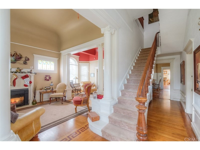 Foyer and front parlor
