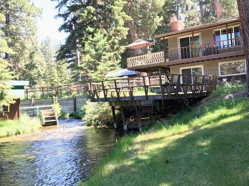 Back Deck & Creek